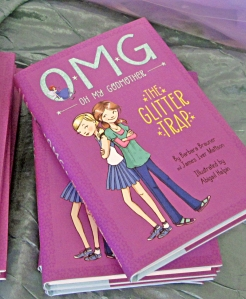 Oh My Godmother The Glitter Trap hardcover copies