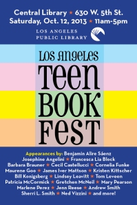 Teen Book Fest graphic