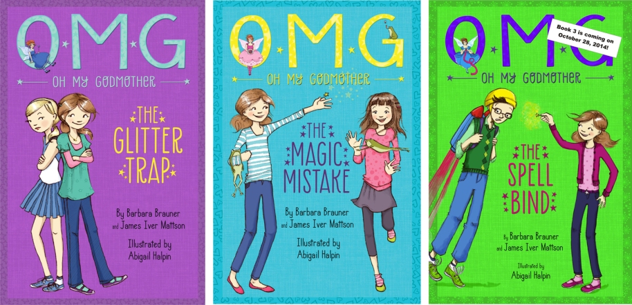 Oh My Godmother Series Book Covers