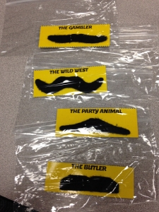 Every detective needs a mustache.